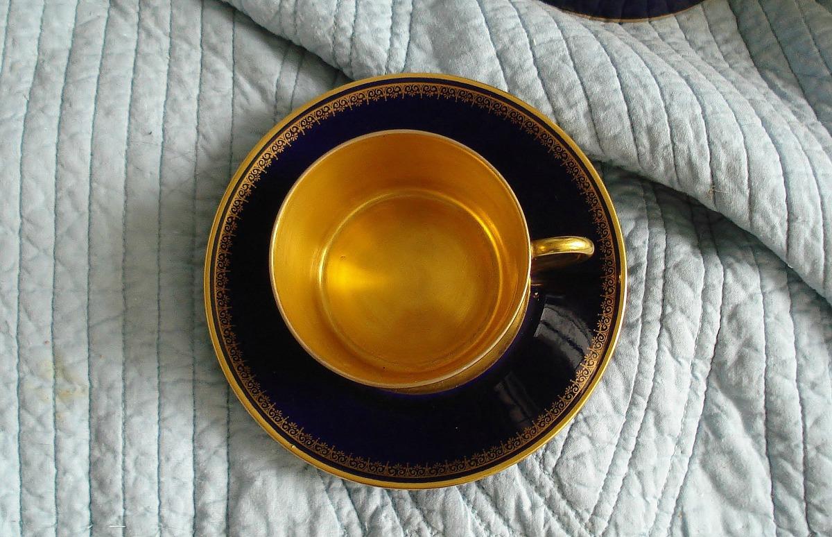 PORCELAINE de Limoges ancienne (Vintage Limoges bone china)