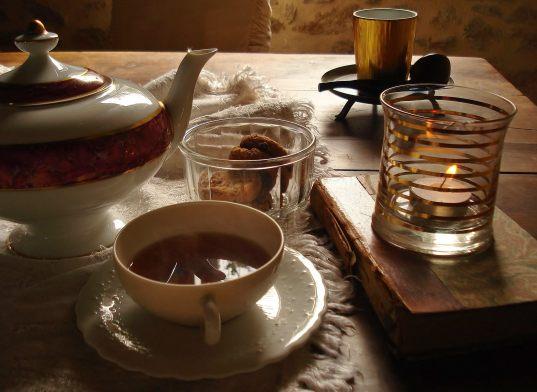 Un thé en hiver