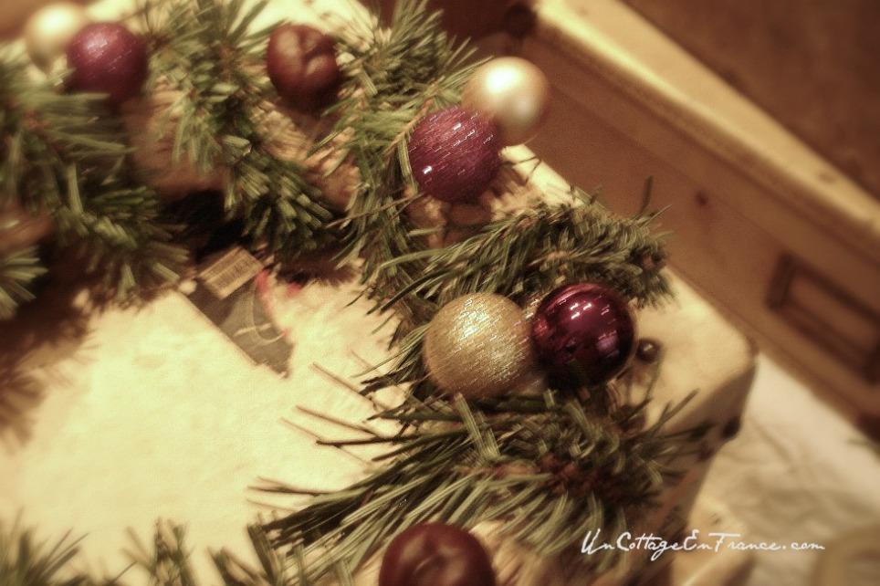 Couronne de Noel fait-main