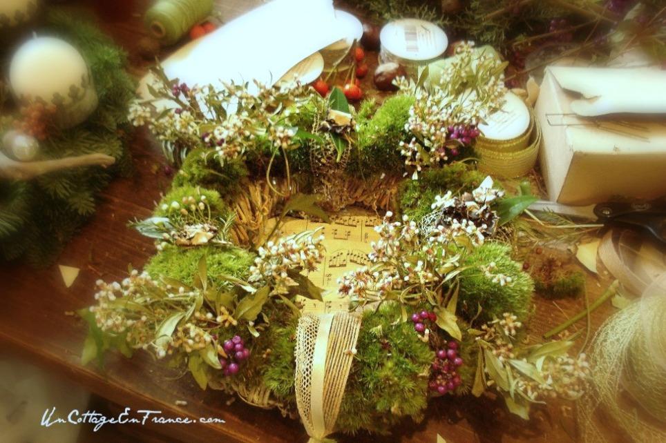 Couronne de Noel - French Christmas wreath 4