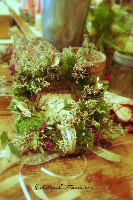 Couronne de Noel - French Christmas wreath 5