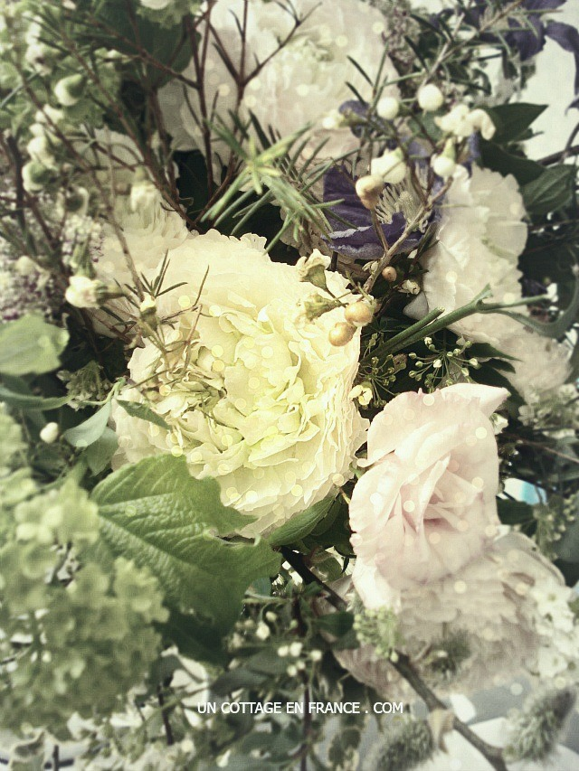 Bouquet printemps shabby chic, blog shabby chic c1