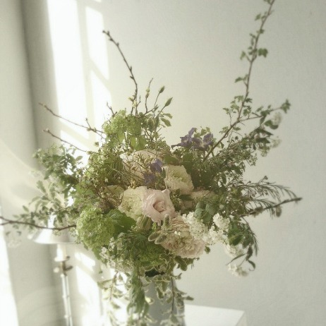 Bouquet printemps shabby chic, blog shabby chic c1