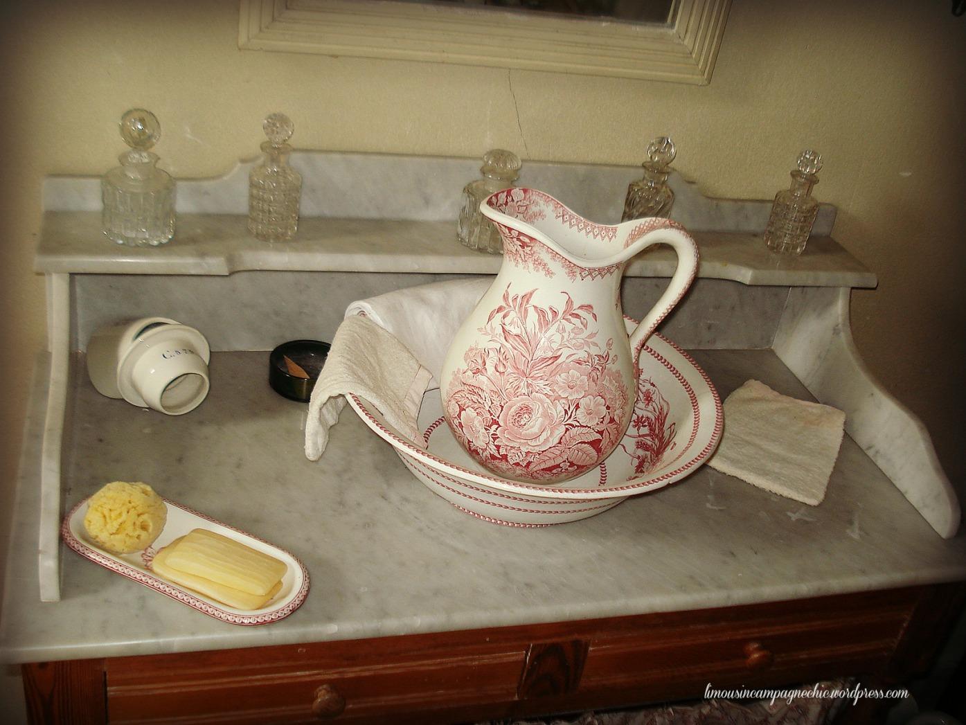 Salle de bain vintage - Vintage bathroom