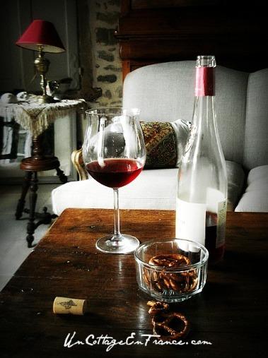 Un Cottage En France - Un verre de Rosé
