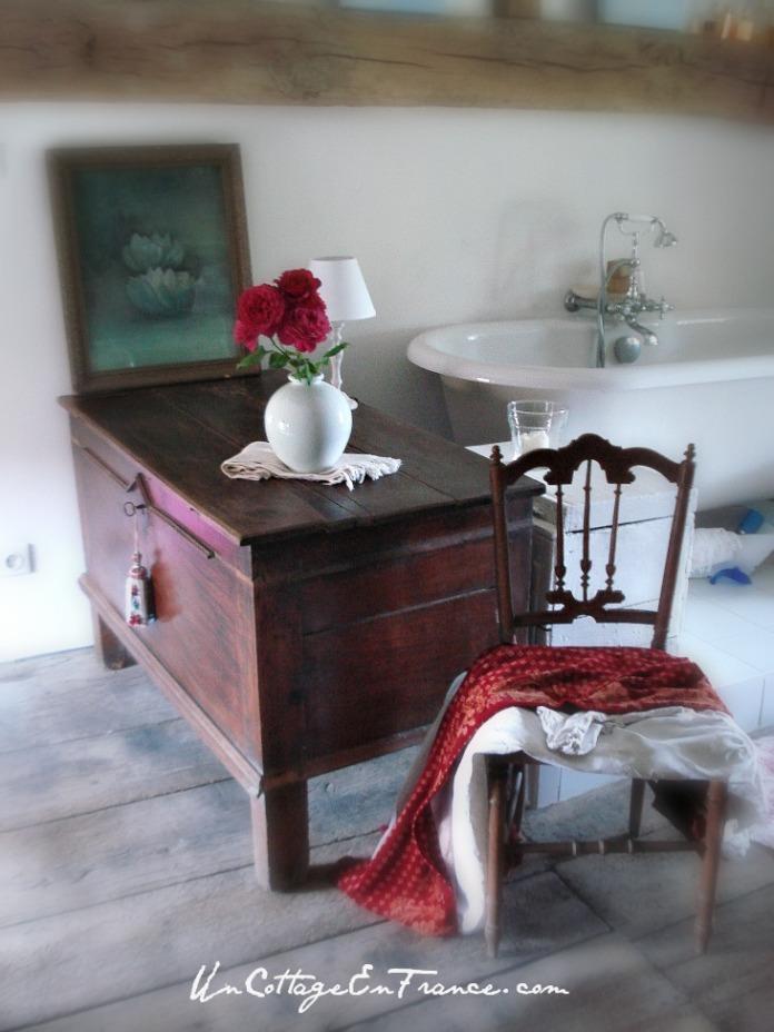 salle de bain ancienne, vintage bathroom