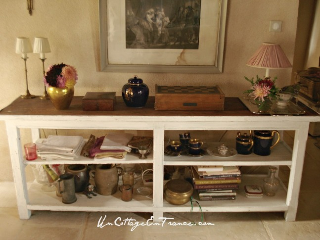 omptoir cottage chic -Cottage chic counter