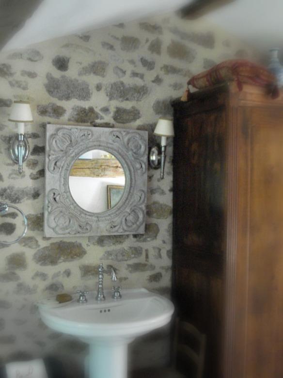 deco campagne chic salle de bain
