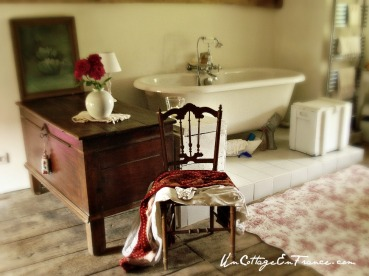 Salle de bain au grenier