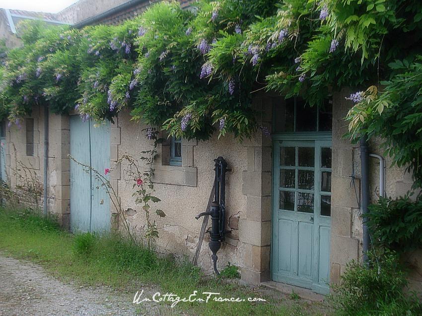 La maison aux glycines de Chateauponsac