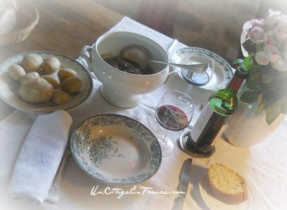 Un Cottage En France - Boeuf bourguignon 1