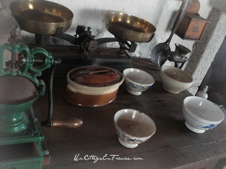 Cuisine ancienne - UnCottageEnFrance.com