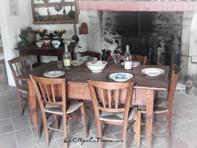 Cuisine musee de Montrol Sénard