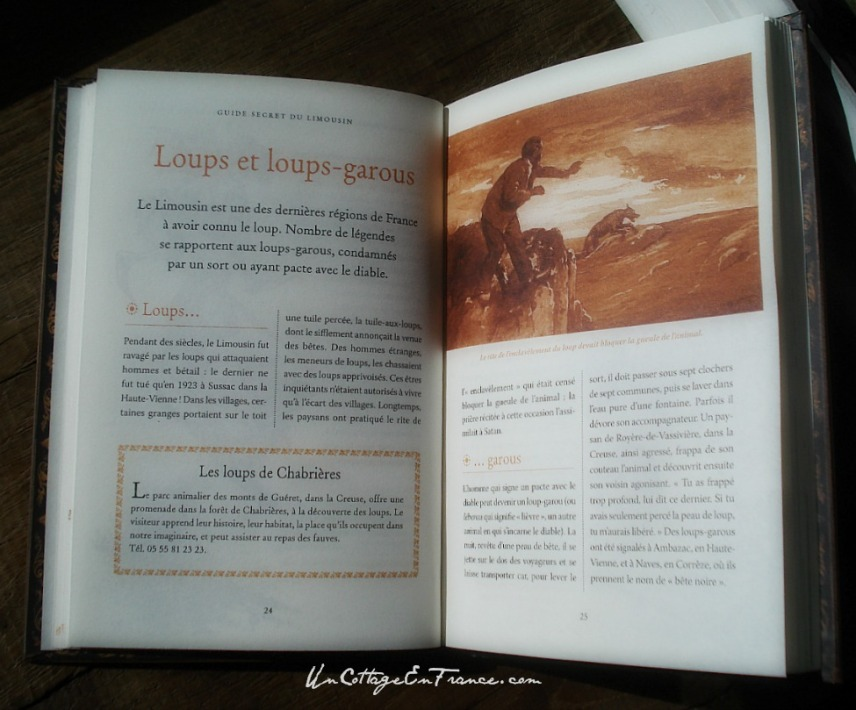 Guide secret du Limousin - Loups et loups-garous