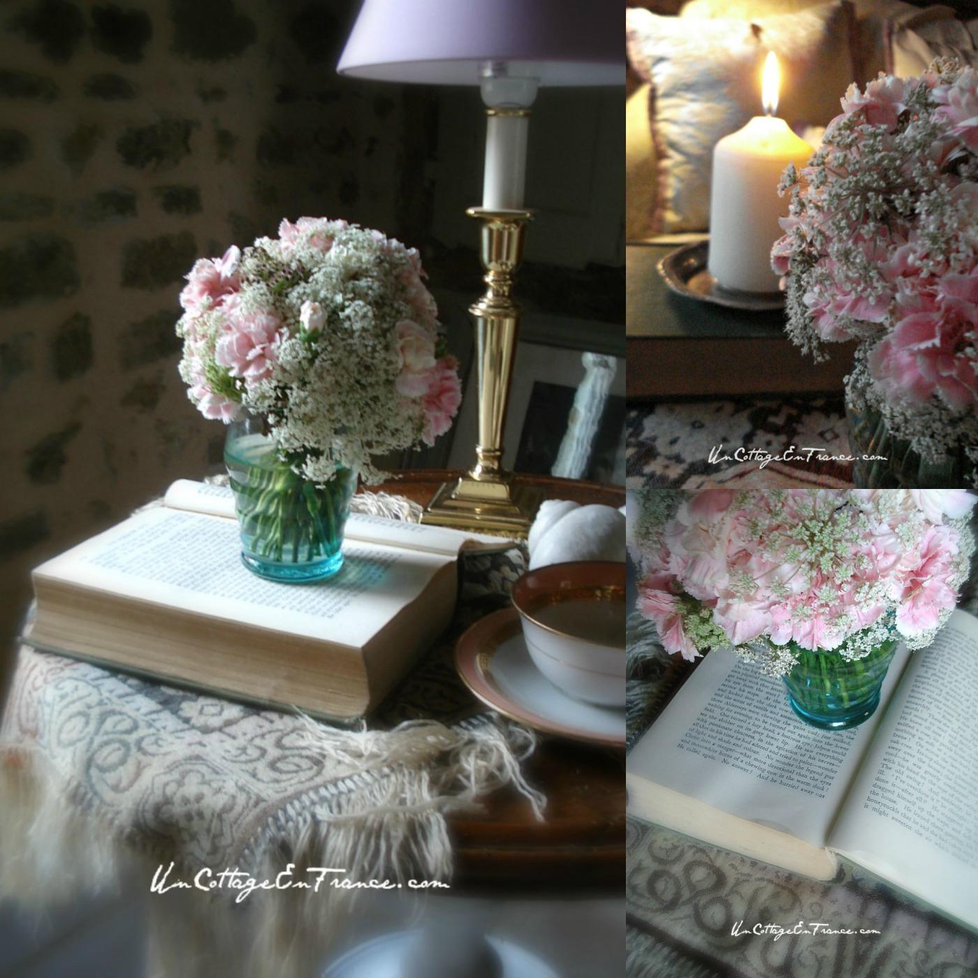 httpuncottageenfrance.com20141012oeillets-roses-pink-carnations 6