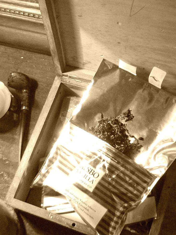 Tabac à la vanille - Vanilla tobacco