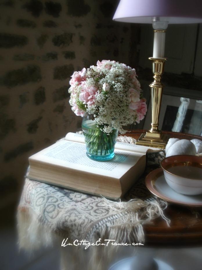 The romantic carnations - Un Cottage En France.com
