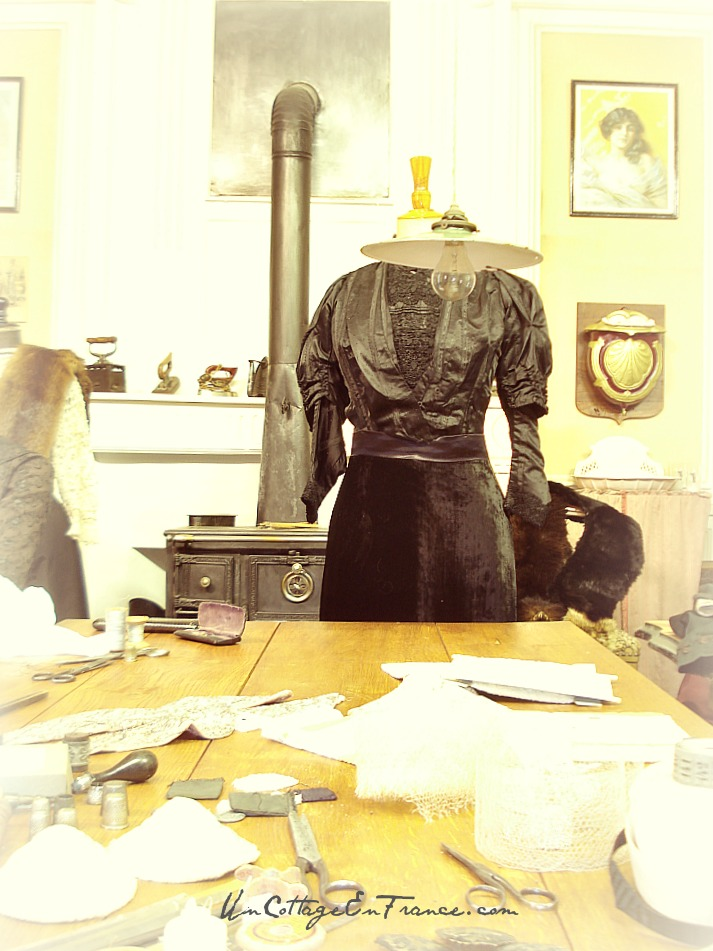 Atelier couturiere 1900 - Musee de Chateauponsac 87