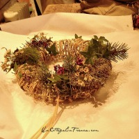 COURONNE de Noël à faire soi-même (Making of a Christmas WREATH)