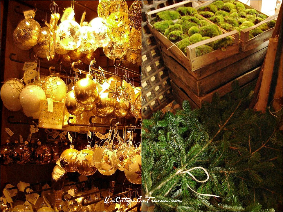 French Christmas Decorations/sapin De No 235 L Artificiel » Home ...