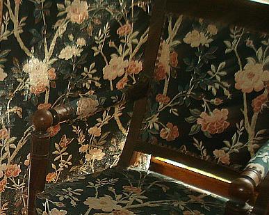La chambre au paravent aux roses