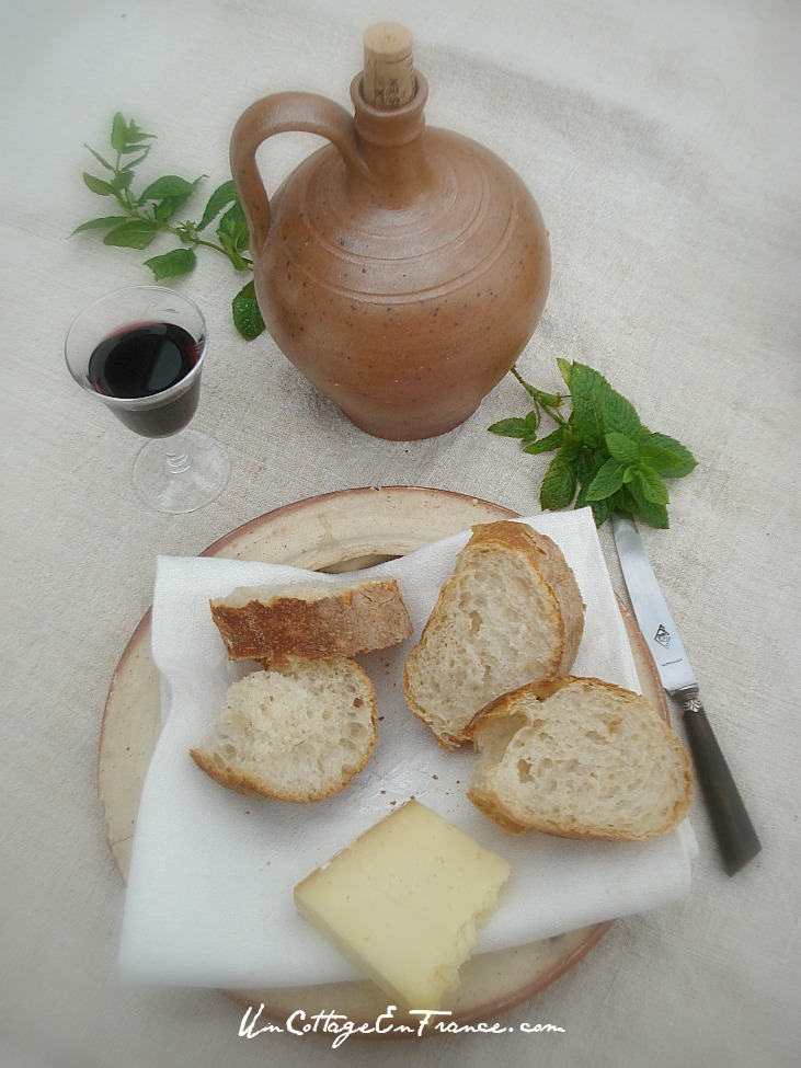 Vin et fromage en France - Un Cottage En France