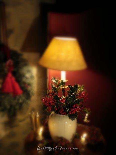 Bouquet de houx de Noel