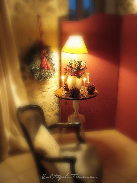 Noel traditionnel au cottage
