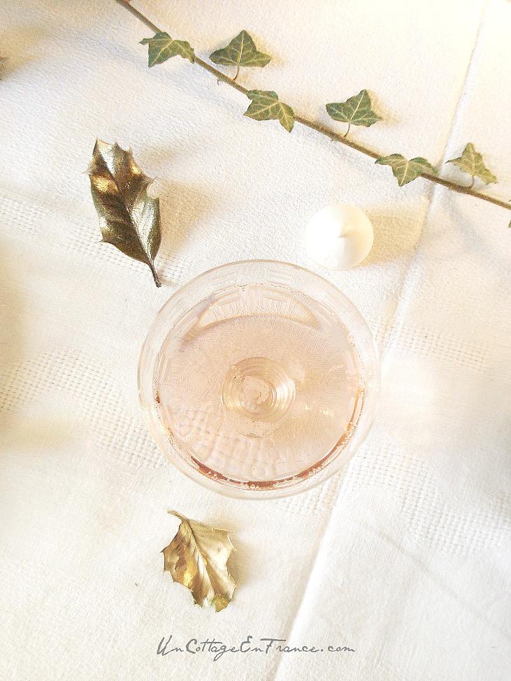 Champagne rosé Moet et Chandon