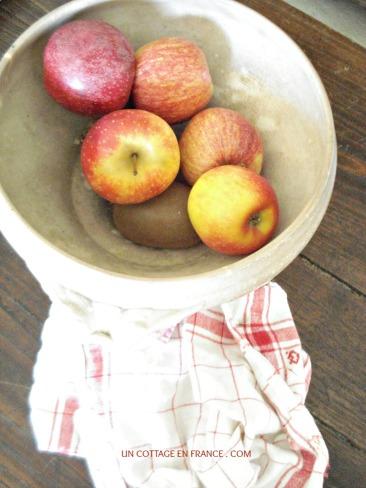 Pommes du cottage