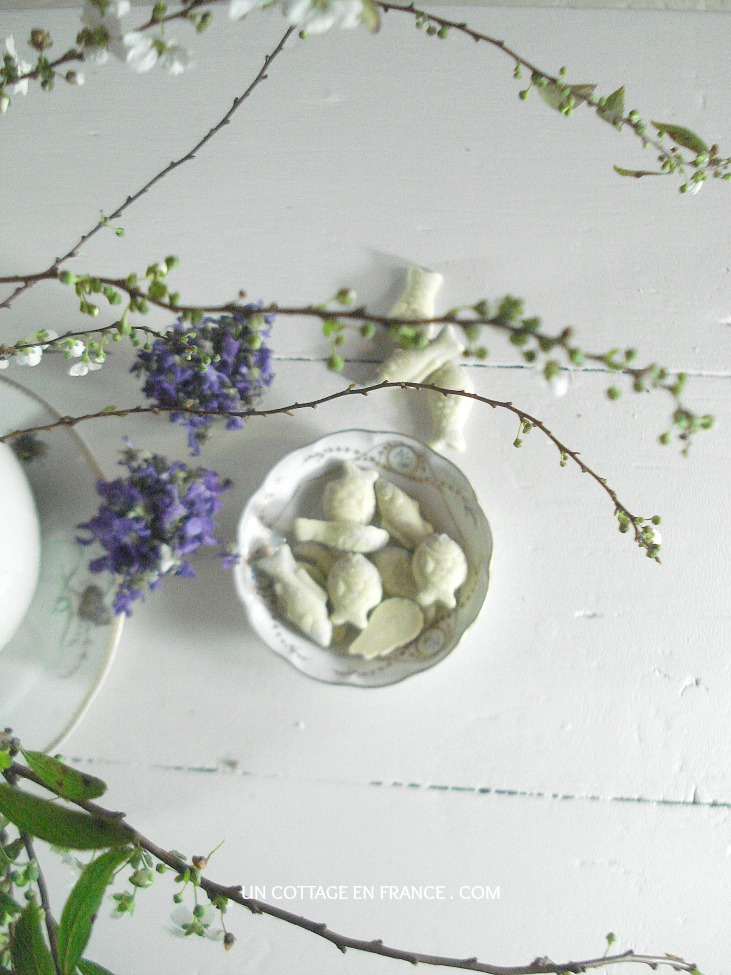 Bouquet de Paques au cottage