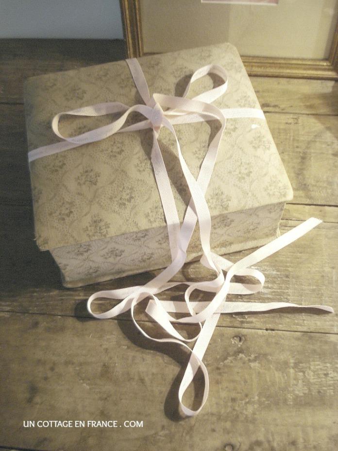 Cadeau boite de roses du cottage en France 1