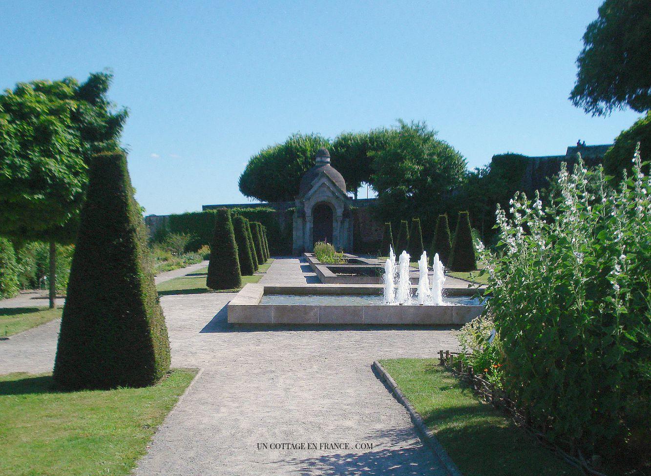 Jardin des sens Eveché de Limoges