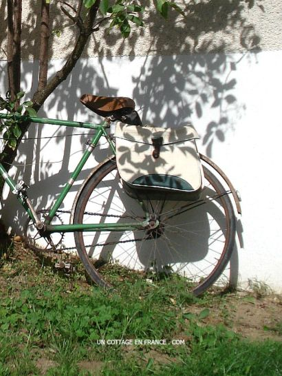 Le vieux vélo du cottage