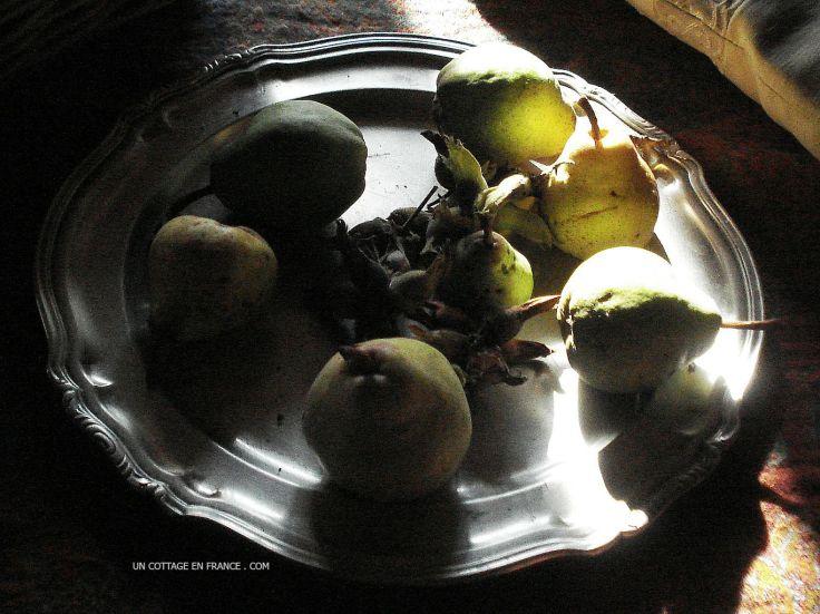 tarte au poire rustique