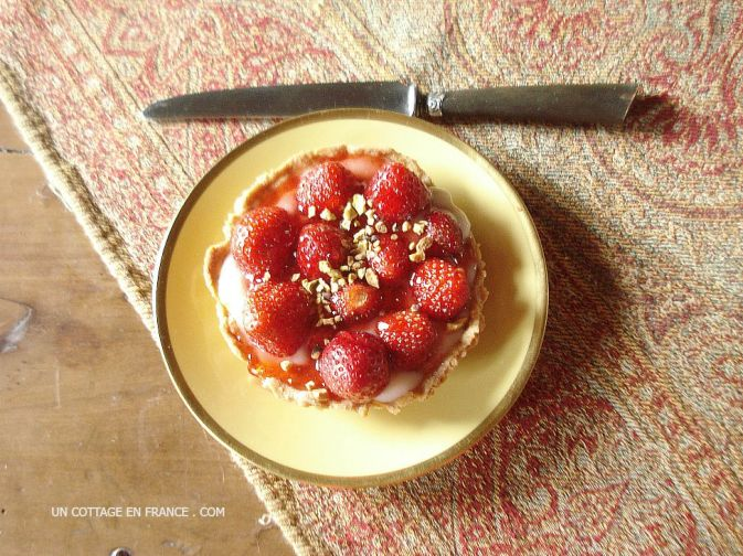 Strawberry tartets