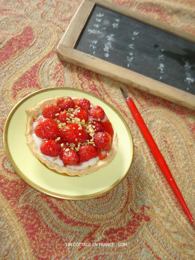 Strawberry tartelettes