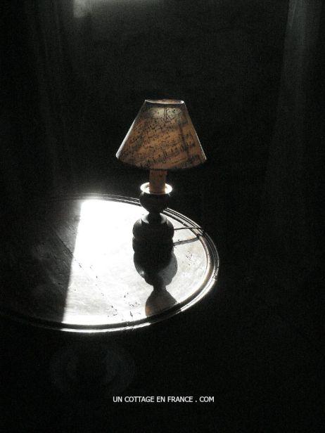 La petite lampe campagne chic
