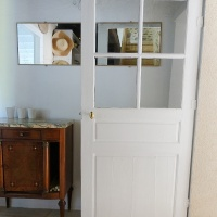 Hier comme aujourd'hui : le retour d'une ancienne porte du cottage | Then and now:  the return of an old cottage door