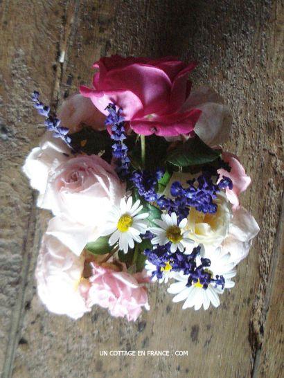 Le bouquet dans la chambre du cottage 1