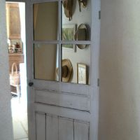 Hier comme aujourd'hui : le retour de l'ancienne porte du cottage | Then and now:  the return of the old cottage door