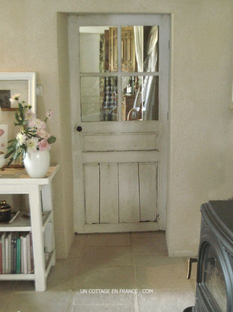 Le retour de l ancienne porte du cottage the return of - Porte country chic ...
