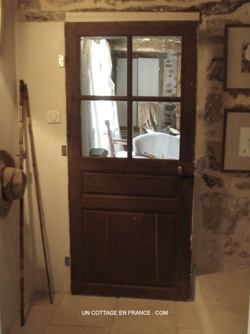 The French country cottage door in Limousin