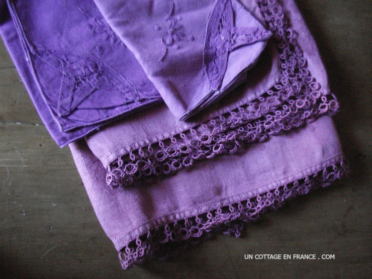 blog campagne chic, esprit de charme, violet