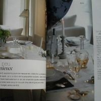 """Recevoir SIMPLE & CHIC"" (Simple & chic table arrangements) - Livre campagne chic (Country chic book)"
