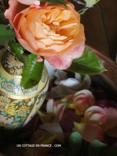 Blog deco romantique - le bouquet du jardin