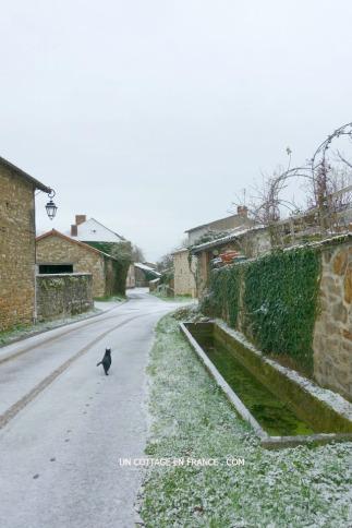Neige de janvier 2016 Le Liboureix 1