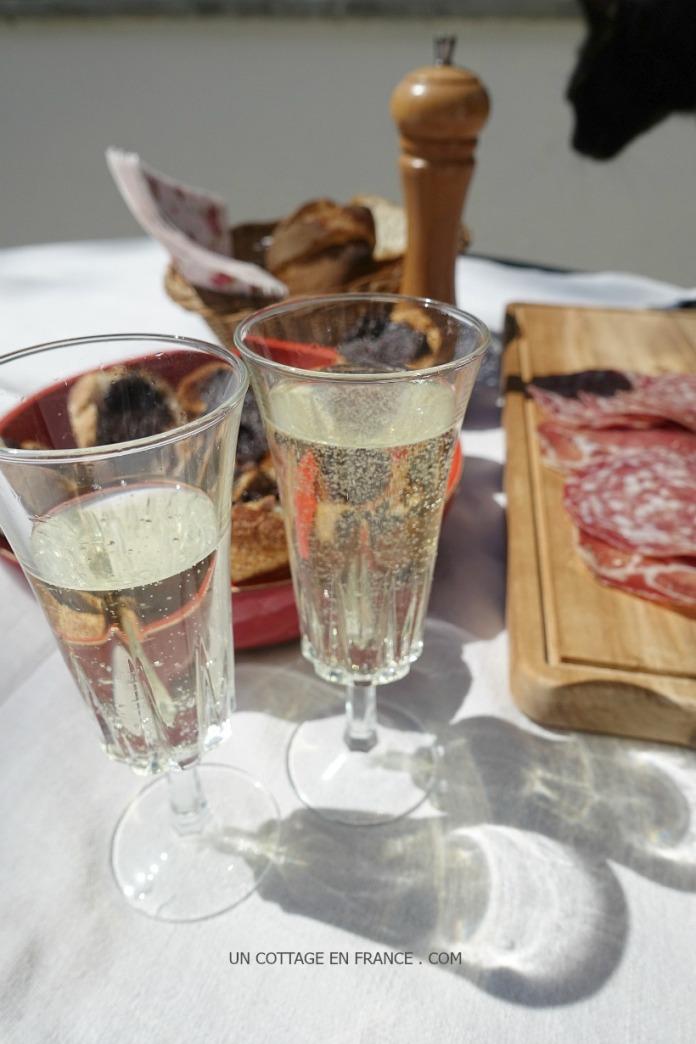 Anchoiade tartines aperitif au soleil