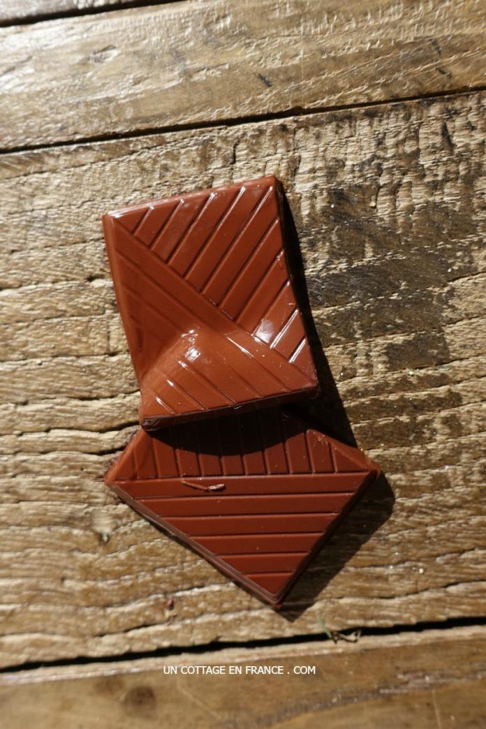 Chocolat fondu au soleil