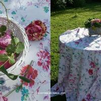 Zinc & roses : une jardinière pleine de roses | a shabby chic box of roses